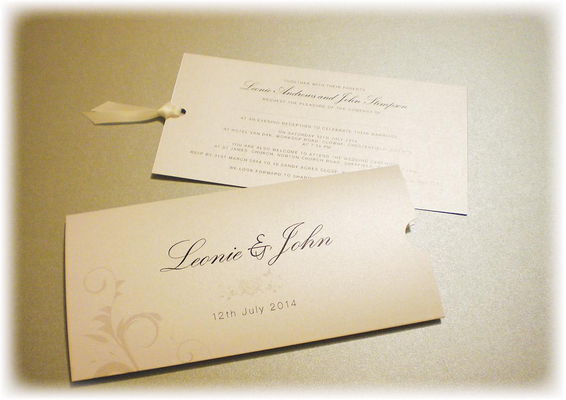 pocketfold wedding invitations adela rosa