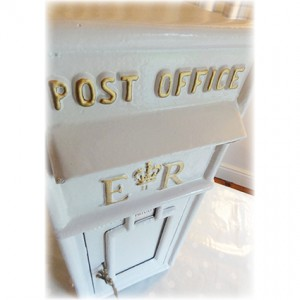 White-Post-Box