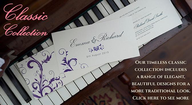 Adela rosa bespoke wedding invitations personalised wedding invitations uk stopboris Image collections